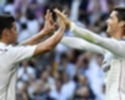 Madrid on course for 200 in a season as Real & Ronaldo go goal crazy